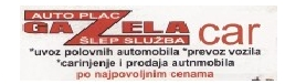 Gazela Car - Auto plac