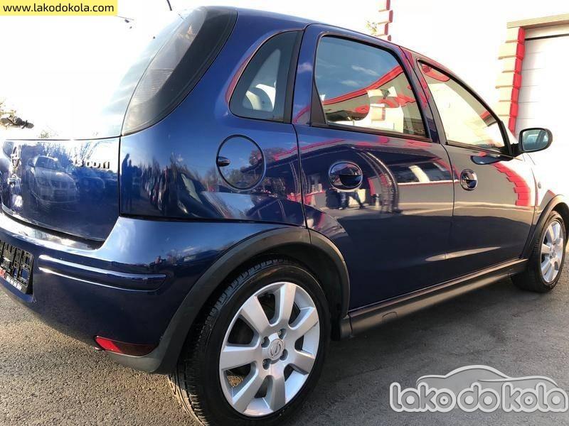 Polovni Automobil Opel Corsa C Kredlti Bez Ucesca Polovni