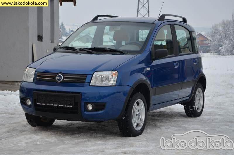 Polovni Automobil Fiat Panda 12 4x4 Climbing Polovni