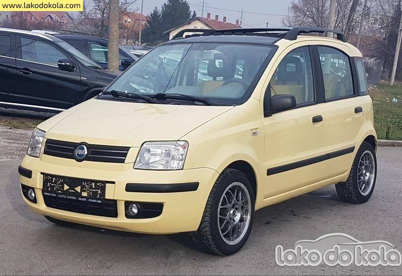 Polovni Automobil Fiat Panda 12 Uv0zchn000va Polovni