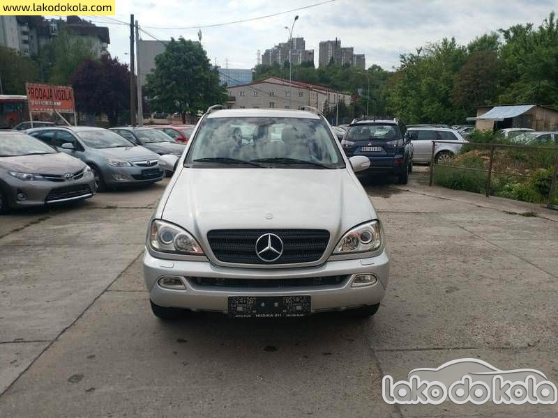 Mercedes Benz 123 Mercedes Benz ML 270 cdi