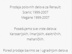 Polovni automobil - Renault Scenic 1.6 16v 1.9 dci - 1