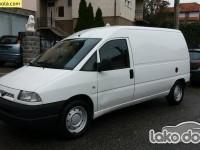 Polovno lako dostavno vozilo - Fiat scudo 2.0 JTD EL