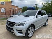 Polovni automobil - Mercedes Benz 123 Mercedes Benz ML 250 BLUETEC 4M AMG
