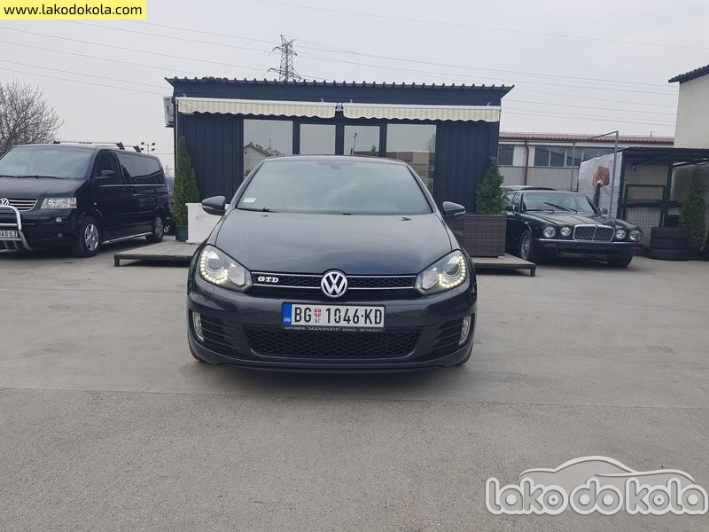 Polovni automobil Volkswagen Golf 6 Golf 6 GTD - Polovni