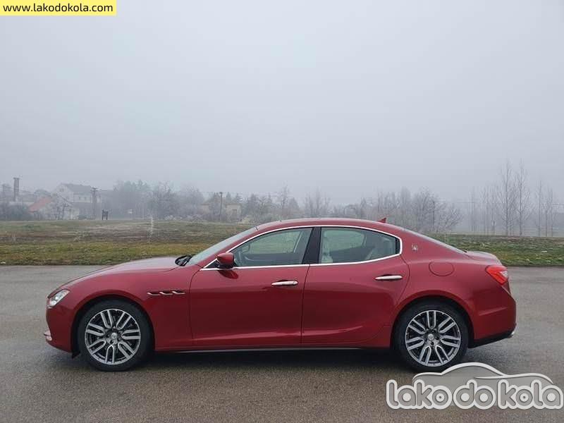 Polovni automobil Maserati Ghibli 3.0 d 2016. - Polovni automobili - Lako do kola